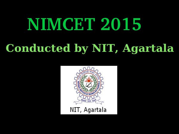 NIMCET 2015: Important Dates