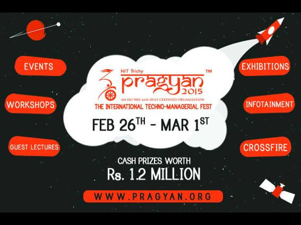 Pragyan '15 - Annual Techno Management Fest