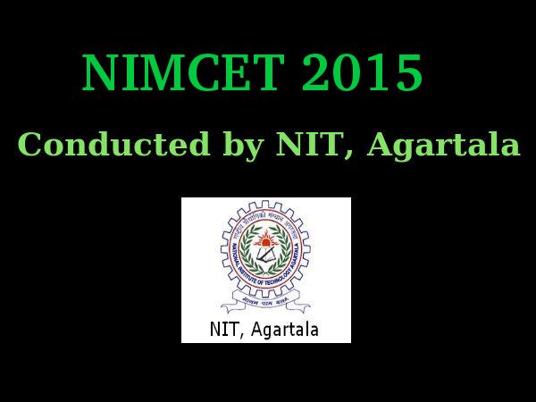 NIMCET 2015 Registration Procedure