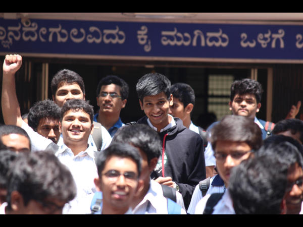 II PU exams kicks-off with moderate Chemistry