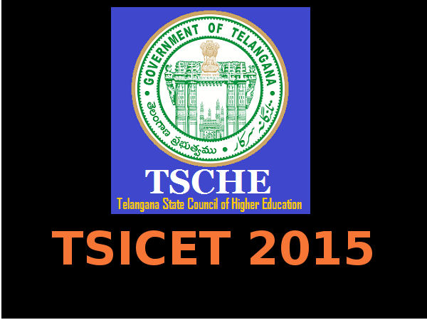 TSICET 2015 Important Dates