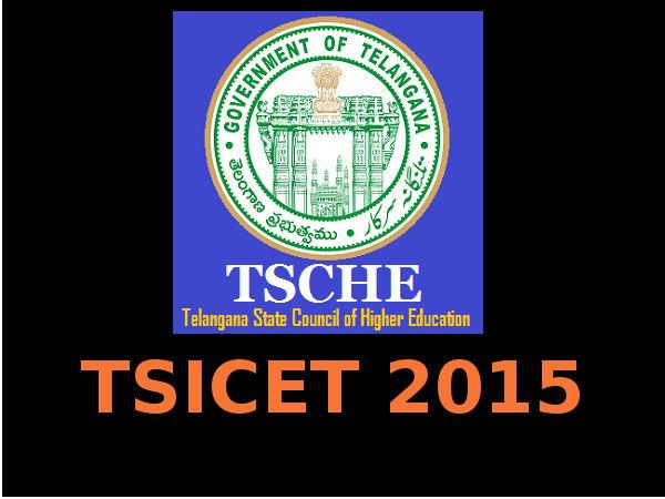 TSICET 2015 Important Dates