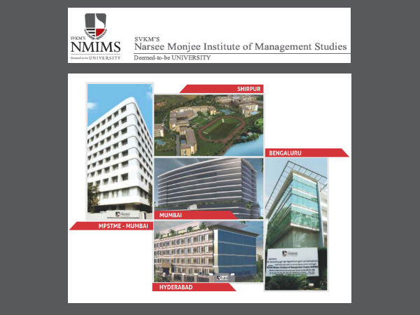 NMIMS, Mumbai offers admissions for B.Tech