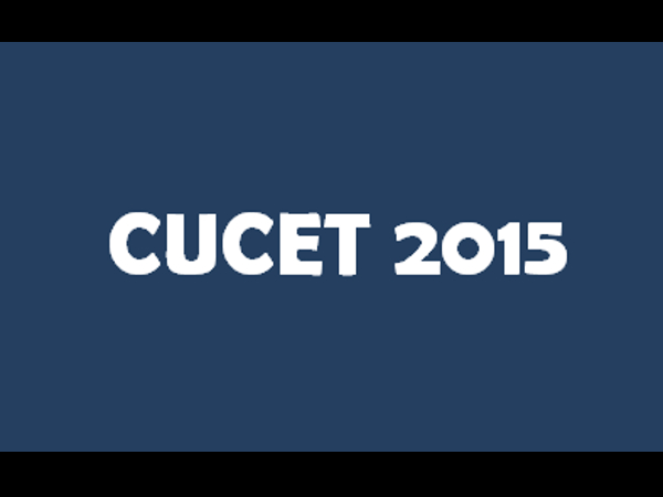 CUCET 2015 announces exam dates