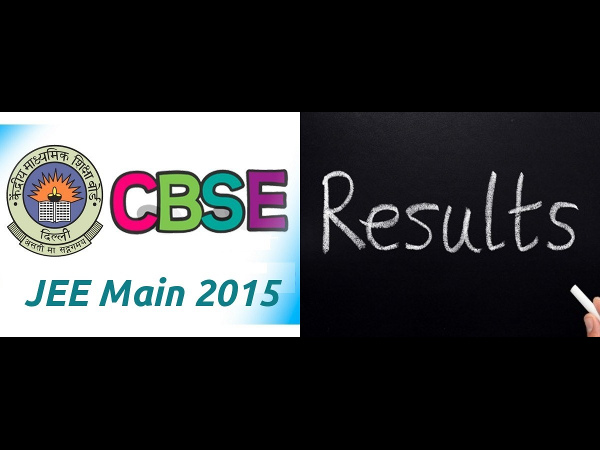 JEE Main 2015 Results Announced, cut off is 105