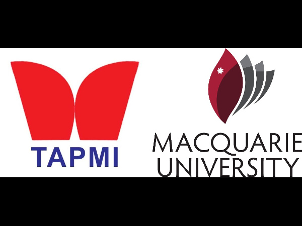 Macquaire University signs MoU with TAPMI