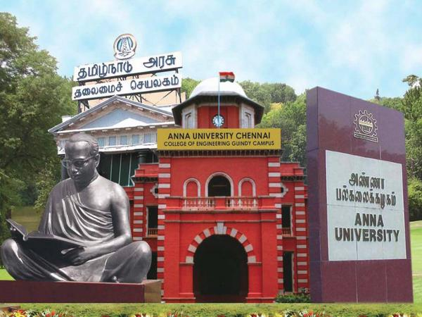 Anna University offers admissions to B.E/B.Tech