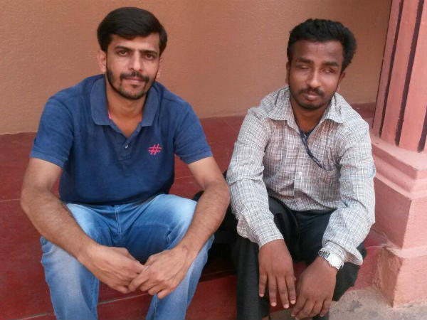 Leading visually challenged on the path of light