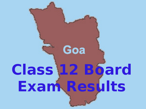Goa Board Class 12 Exam 2015 Results Declared