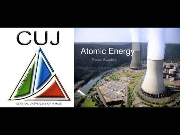'Atomic energy, space technology depts at CUJ