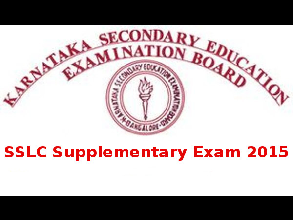 Karnataka SSLC Supplementary Exam Time-Table 2015