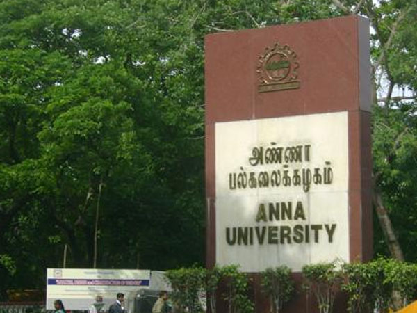 Anna University opens admissions for M.Sc