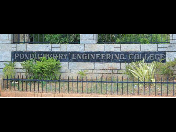Pondicherry Engineering College offers admissions