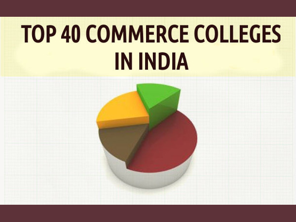 Top 40 Commerce Colleges in India - 2015