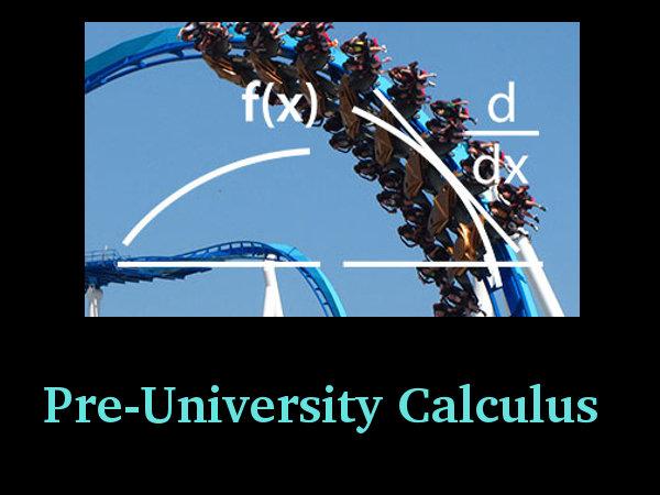 Pre-University Calculus: Online Course by Delft