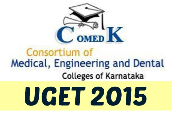 COMEDK 2015: Admission Counselling For Engineering