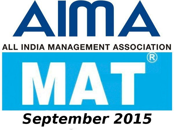 MAT September 2015 online registrations started