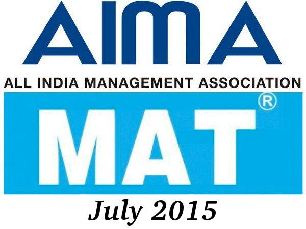 ATMA 2015: July Exam Dates