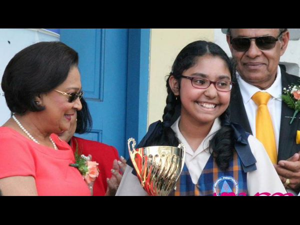 India-born girl tops secondary entrance exam