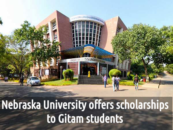 Gitam University Students Offered Scholarship