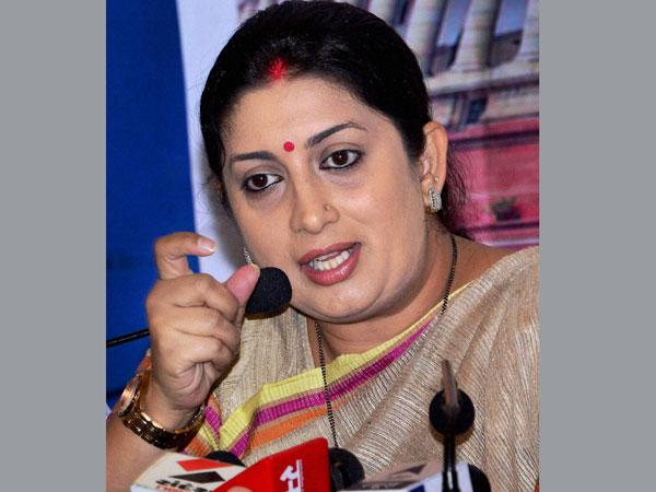 Irani orders FIR as forged letter to UP varsity