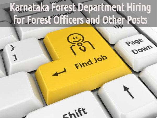 125 Vacancies in Karnataka Forest Department