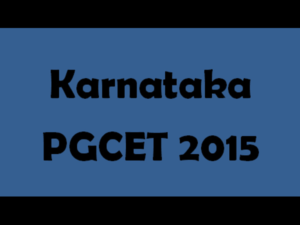 Karnataka PGCET: Online Counselling Scheduled