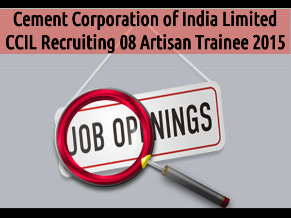 CCI Recruiting 8 Artisan Trainee