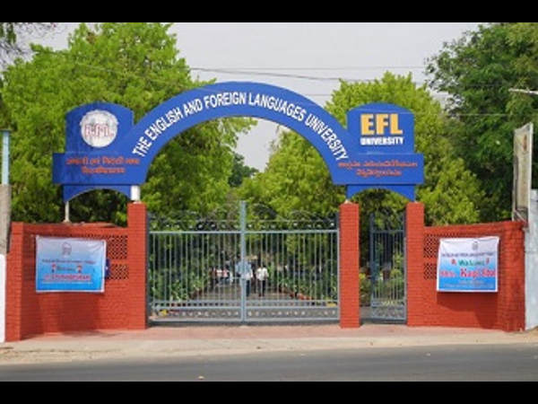 EFL University (SDE) opens M.A (English) admission