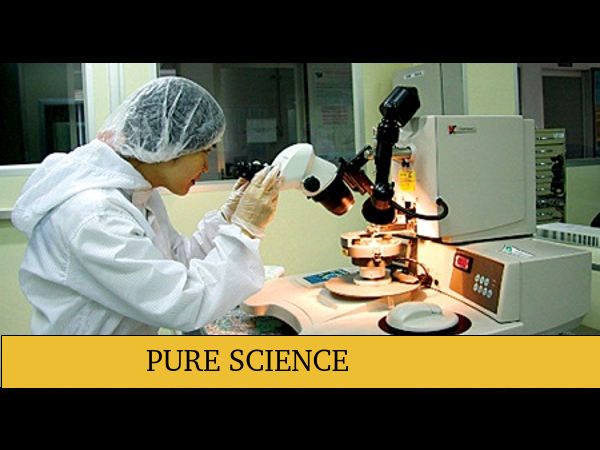 Career Options for Pure Science - Careerindia
