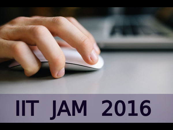List of IITs which accept JAM 2016 scores
