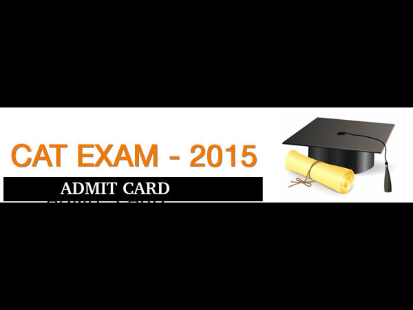 CAT 2015: Admit card likely to be out in October