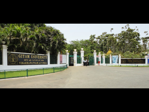 GITAM University Announces GMET 2015 Results
