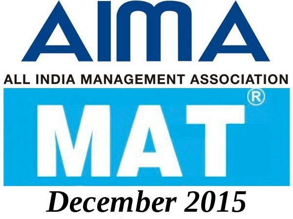 MAT December 2015 Exam Dates Announced