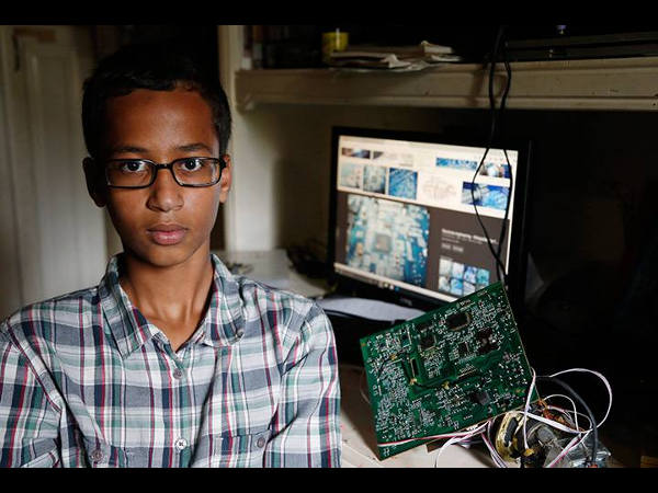Ahmed Mohamed's Clock: A 14-year Old's Experiment