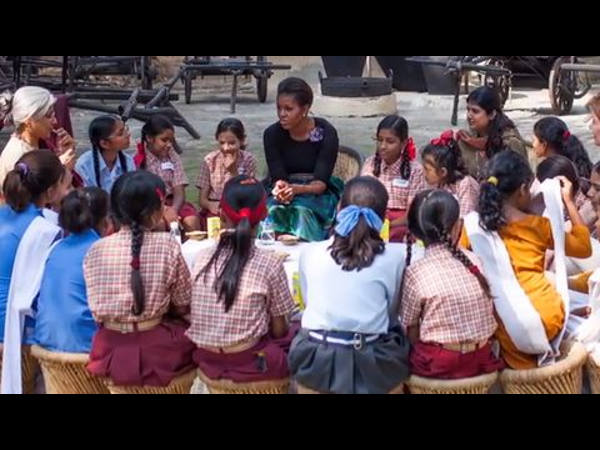 Michelle unveils campaign on girls' education
