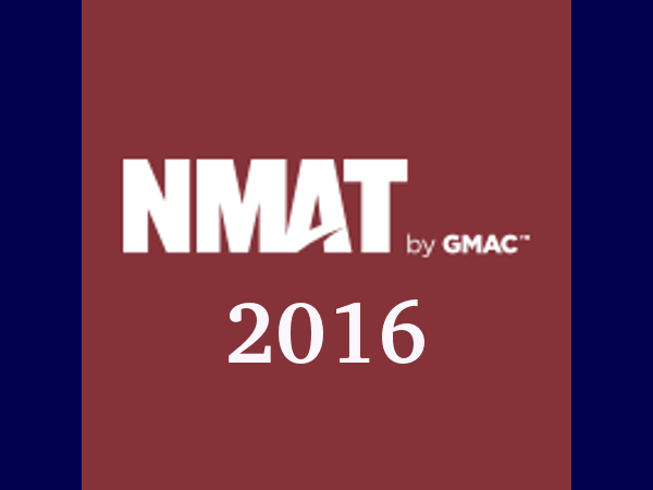 NMAT 2016: Apply before October 5