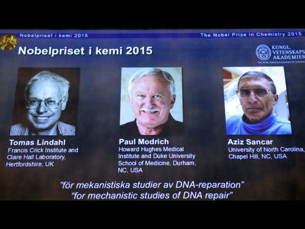 Nobel Prize In Chemistry 2015 For DNA Repair