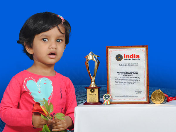 2-year-old girl Aaliyah Creates National Record