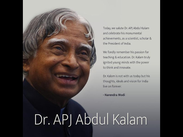 India's Most Loved President: Dr APJ Kalam