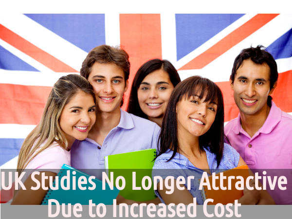 UK Studies No Longer Attractive