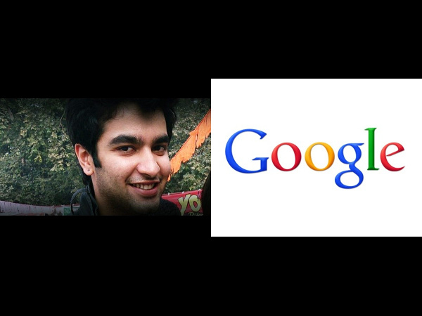 Chetan Kakkar offered Rs 1.27 cr from Google