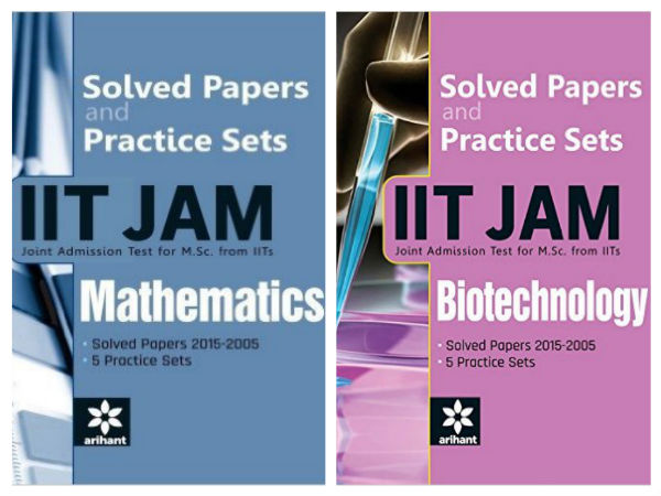 Prepare yourself for IIT-JAM! Best Selling Books