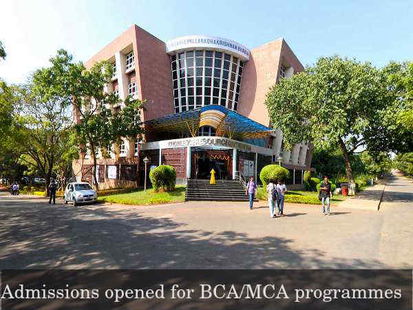 GITAM university invites applications for BCA/MCA