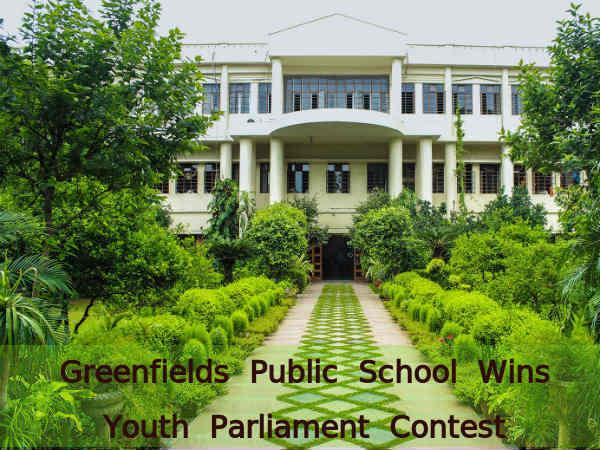 Greenfields Public School Wins Parliament Contest