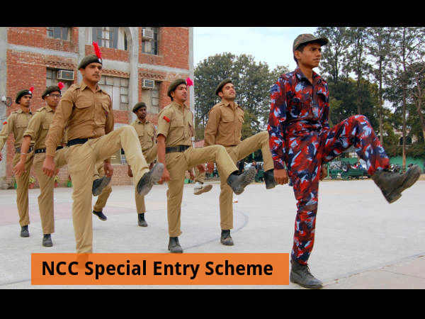 Indian Army Recruits NCC Special Entry Scheme 2016