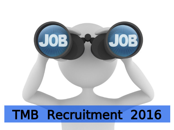 TMB Recruitment for Clerk Posts 2016