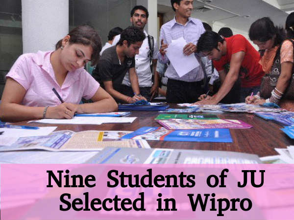 9 students of Jammu University selected in Wipro