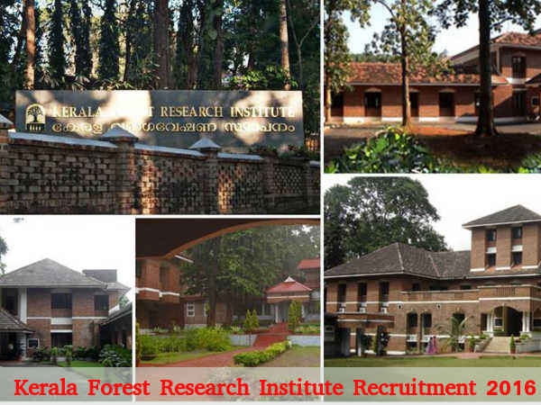 KFRI Recruitment for Project Fellow Post 2016