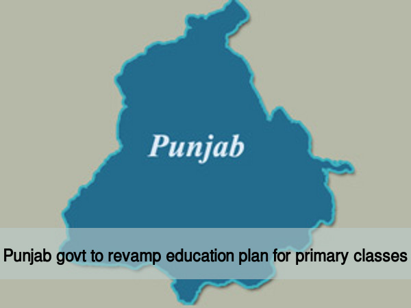 Punjab govt to revamp edu plan for primary classes